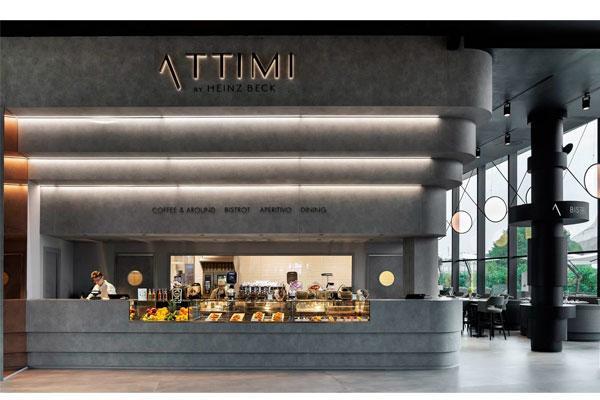 fabio novembre elige himacs para attimi el nuevo restaurante de heinz beck en miln