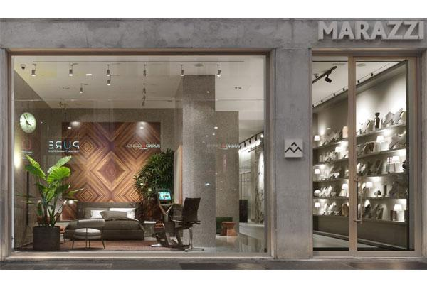 marazzi abre las puertas de su nuevo espacio expositivo en miln