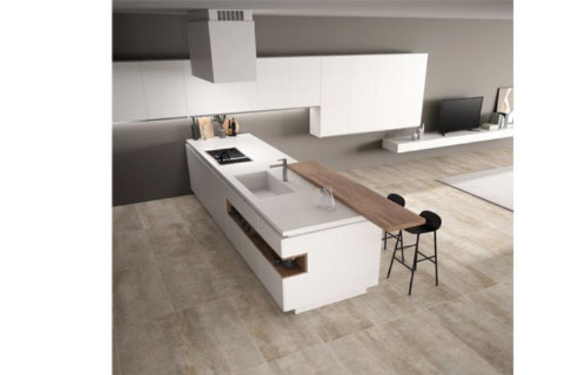 las nuevas encimeras de cocina de azuvi llenan de elegancia este espacio