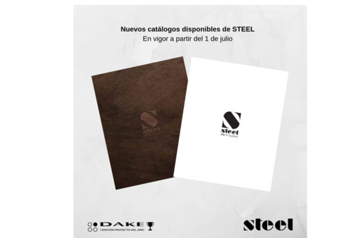 dake presenta los nuevos catlogos de steel 2019