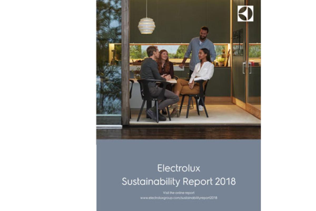 electrolux destaca la reduccin de emisiones e inversiones para mejorar el impacto climtico