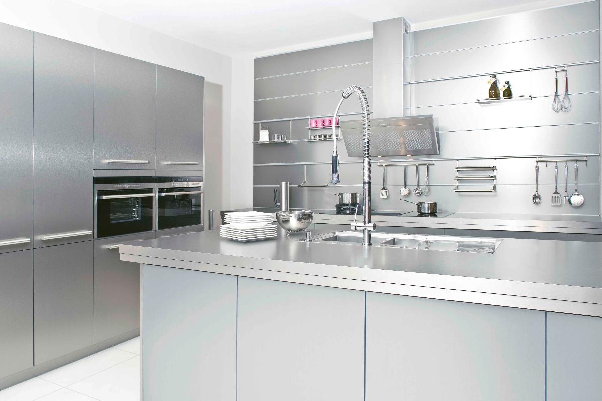 acabados metalizados la ltima tendencia en el diseo de cocinas