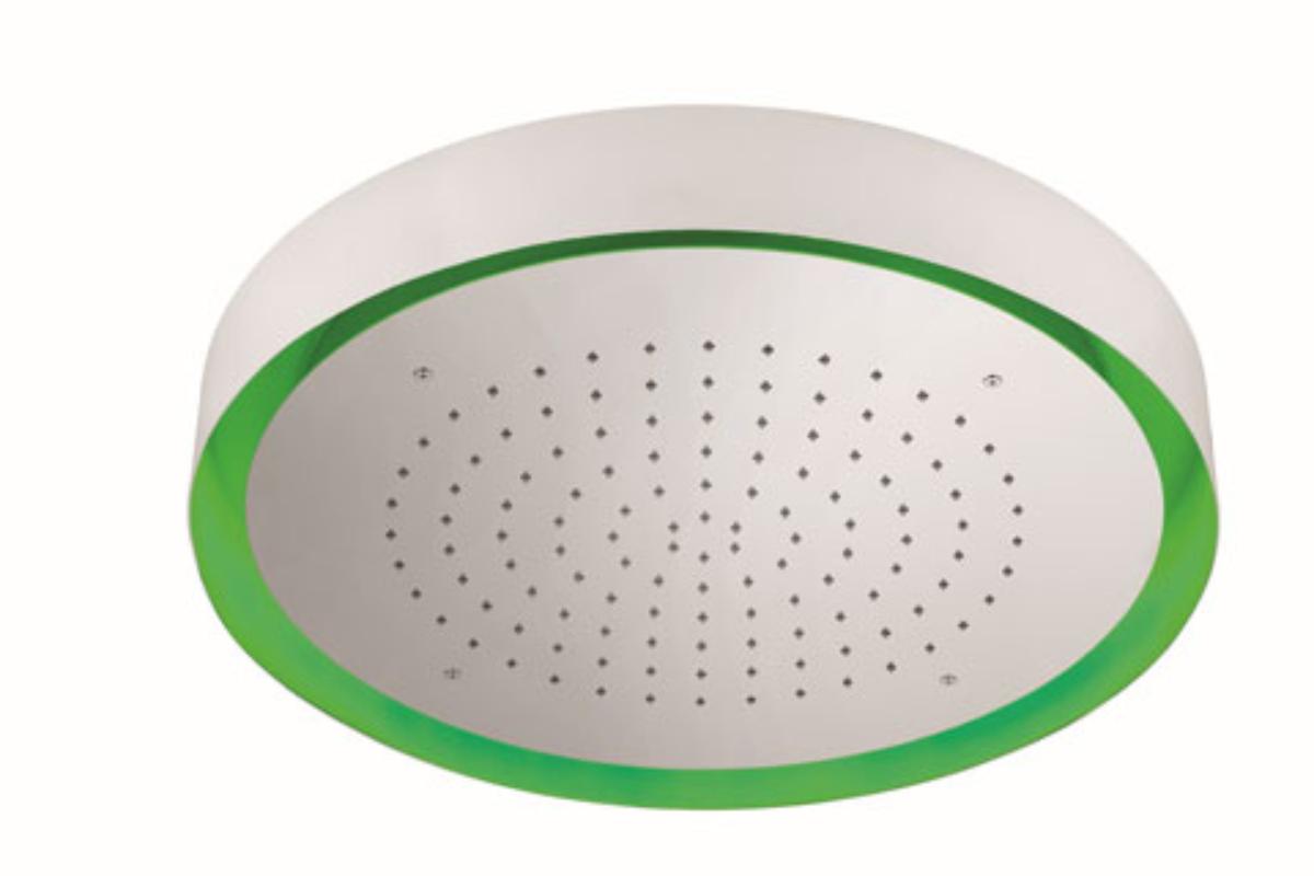 reled570 el nuevo rociador circular de techo con cromoterapia de ramon soler