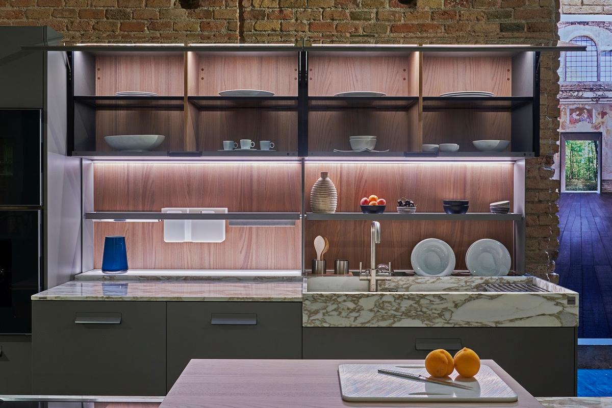 la cocina del futuro llega desde amrica con insinkerator y ernestomeda