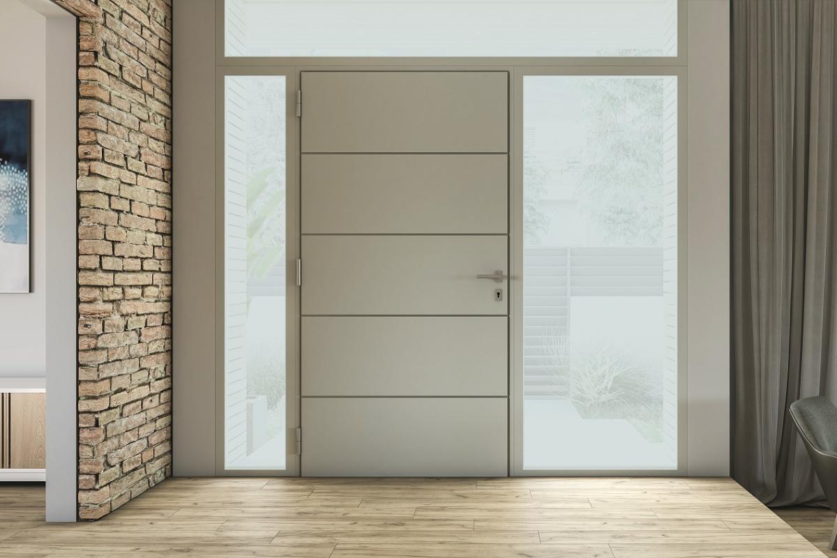 dooral la nueva puerta panelada de techna