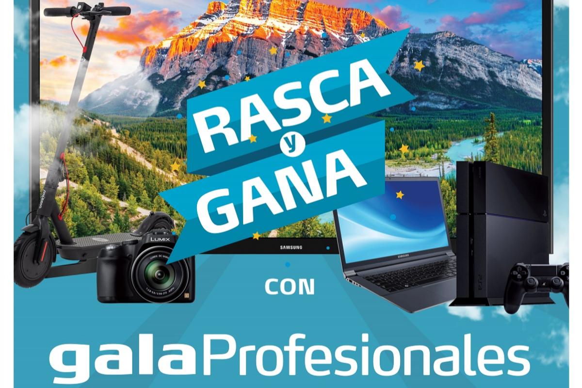 gala profesionales presenta rasca y gana la nueva promocin que premia a los instaladores ms activos