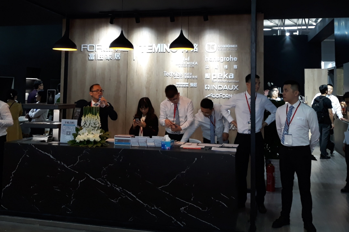 indaux en la feria kitchen amp bath china 2019