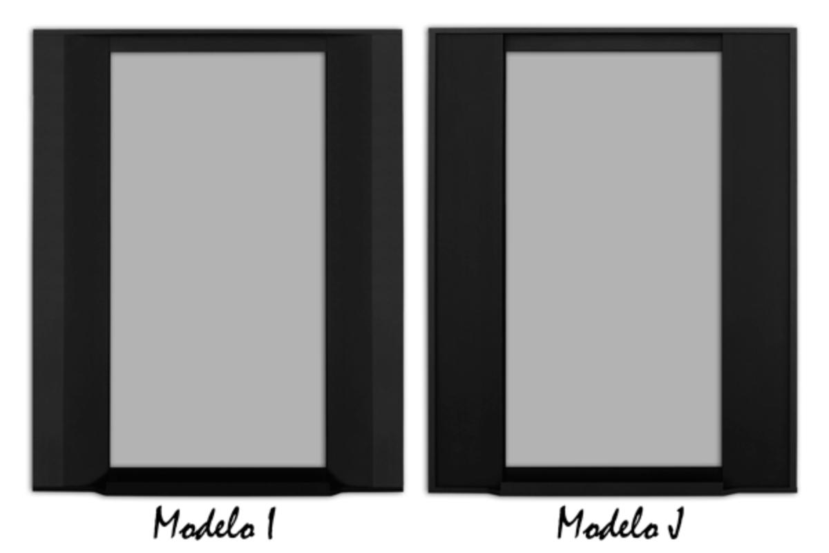 lmg lanza los modelos de vitrinas asimtricas i y j en negro mate anodizado con o sin tirador