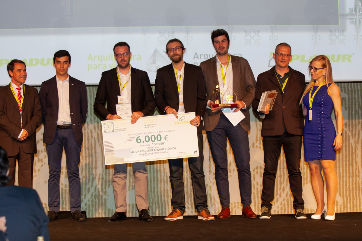 pladur celebra la 29 edicin del concurso soluciones constructivas con un motivo muy sostenible
