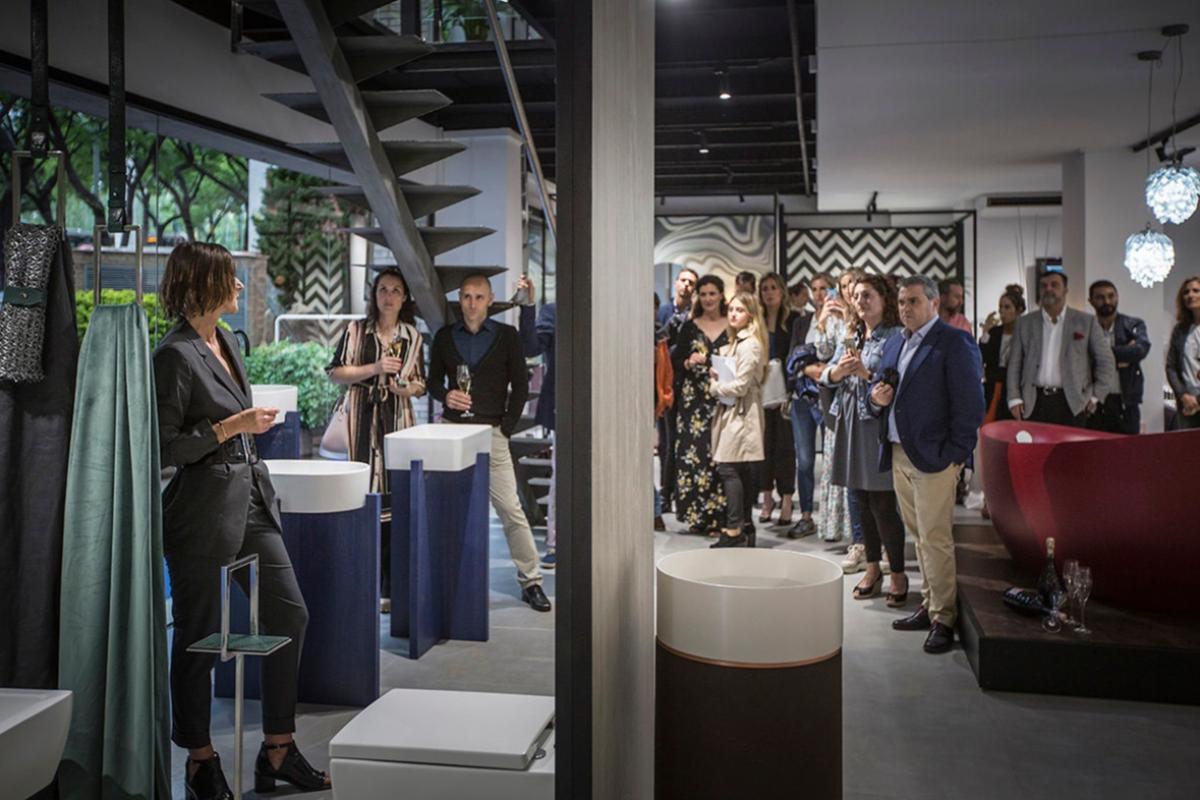 villeroy amp boch estrena showroom dedicado al mundo del bao en barcelona