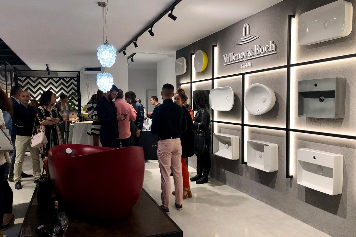 villeroy amp boch presenta su nuevo showroom en barcelona