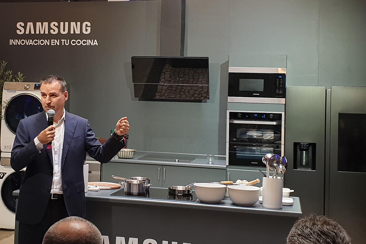 samsung estrena nueva gama de cocina