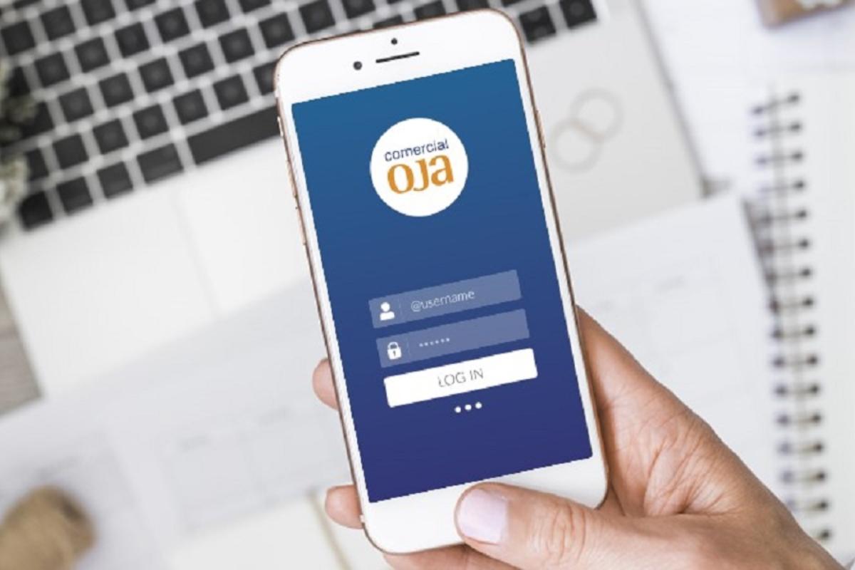 comercial oja desarrolla un app pionera en el sector para sus clientes