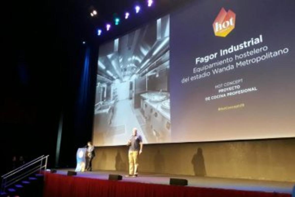 fagor industrial ganador de los premios hot concepts 2019 por la restauracin del wanda metropolitano