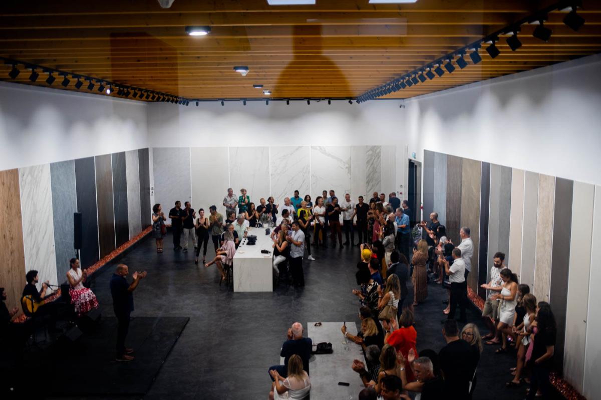 neolith abre un nuevo showroom en tel aviv junto a su distribuidor majestic gemstone