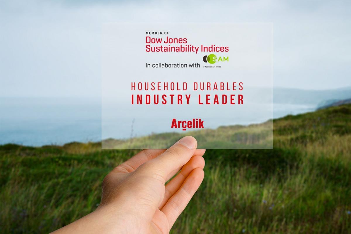 arelik reconocida como la compaa ms sostenible por dow jones en la categora de bienes duraderos para el hogar