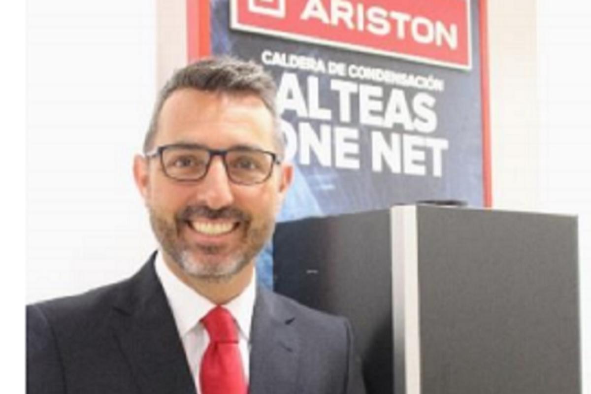 ariston nombra a rubn santos nuevo director comercial en espaa