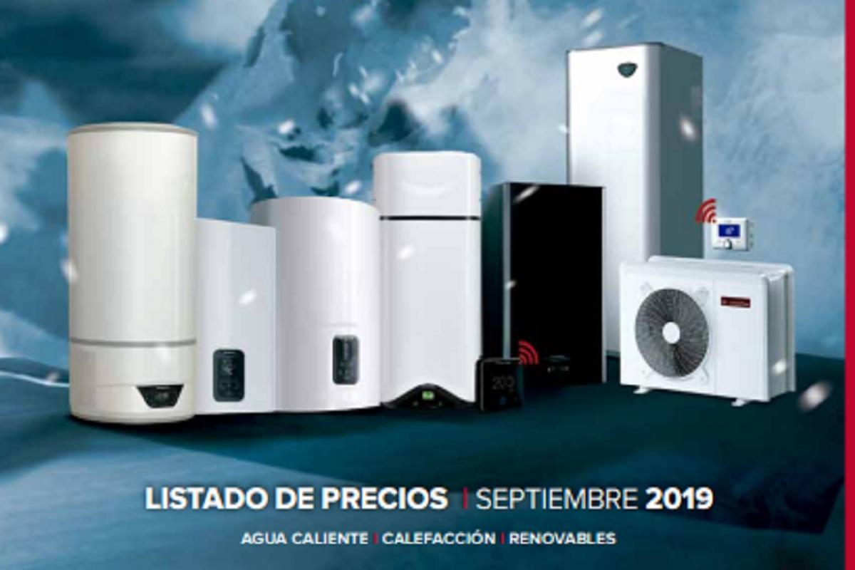 ariston presenta su nueva tarifa de precios con novedades en aerotermia y calefaccin