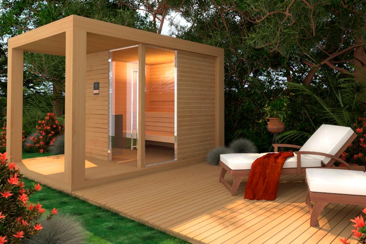 freixanet wellness reinventa el concepto de saunas exteriores con el modelo yard