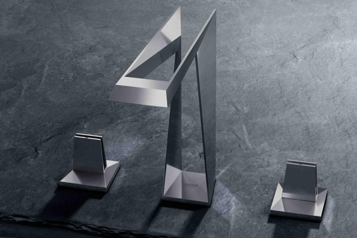 grohe presenta su innovadora grifera icon 3d en rebuild 2019