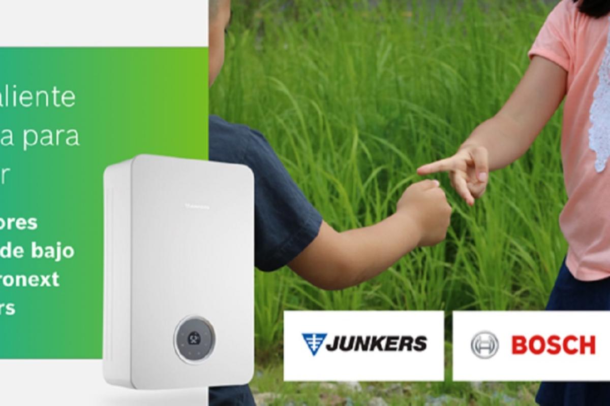 la innovacin diseo y sostenibilidad de los calentadores hydronext protagonistas en la nueva campaa de junkersbosch