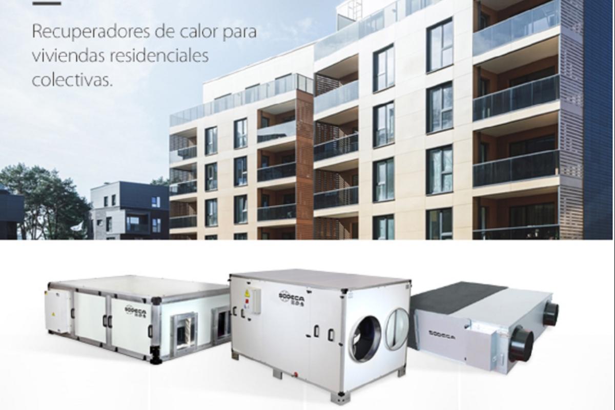 sodeca presenta sus nuevos recuperadores de calor y unidades de filtracin