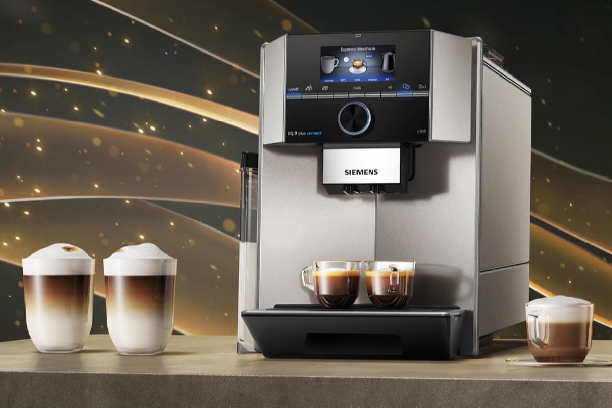 nuevas cafeteras espresso superautomticas siemens el mejor caf hecho en casa