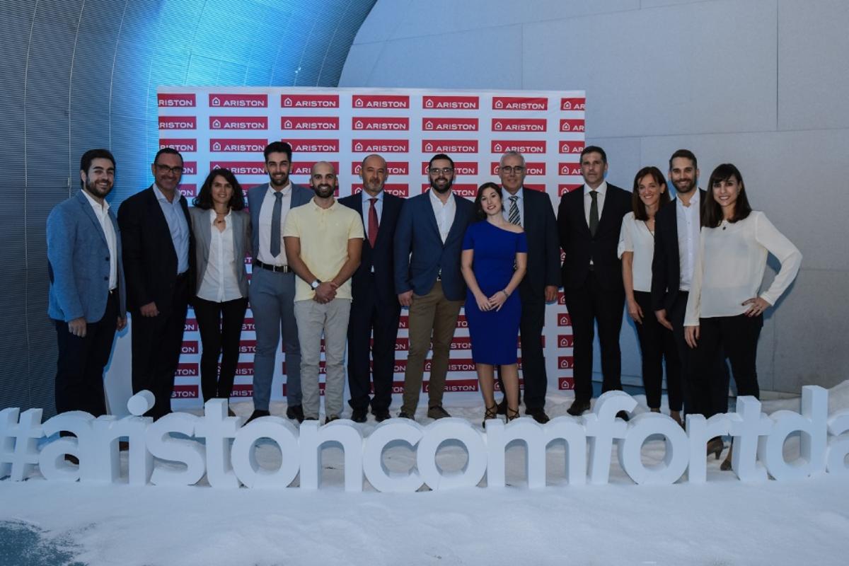 ariston se presenta oficialmente en madrid con un gran evento dedicado a instaladores