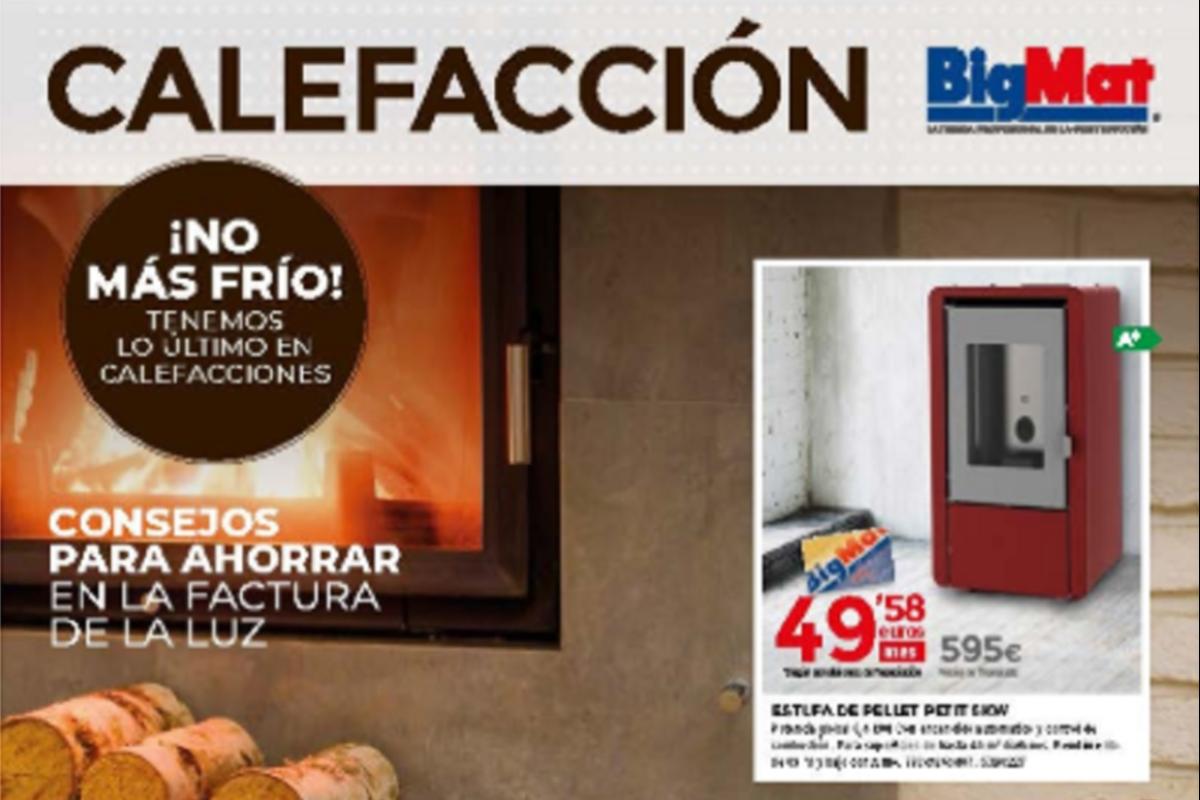 bigmat presenta su folleto de calefaccin para conseguir un hogar ms clido y eficiente