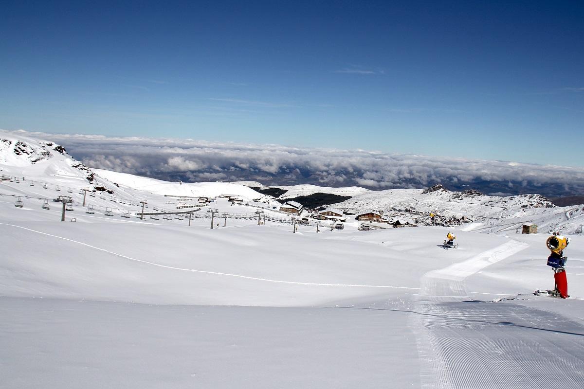 cosentino patrocinador oficial de sierra nevada
