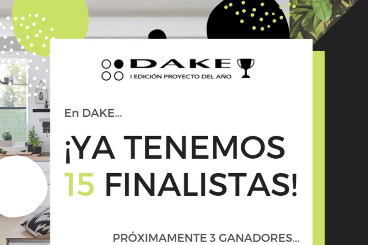 dake presenta los 15 proyectos finalistas de los premios al diseo 2019