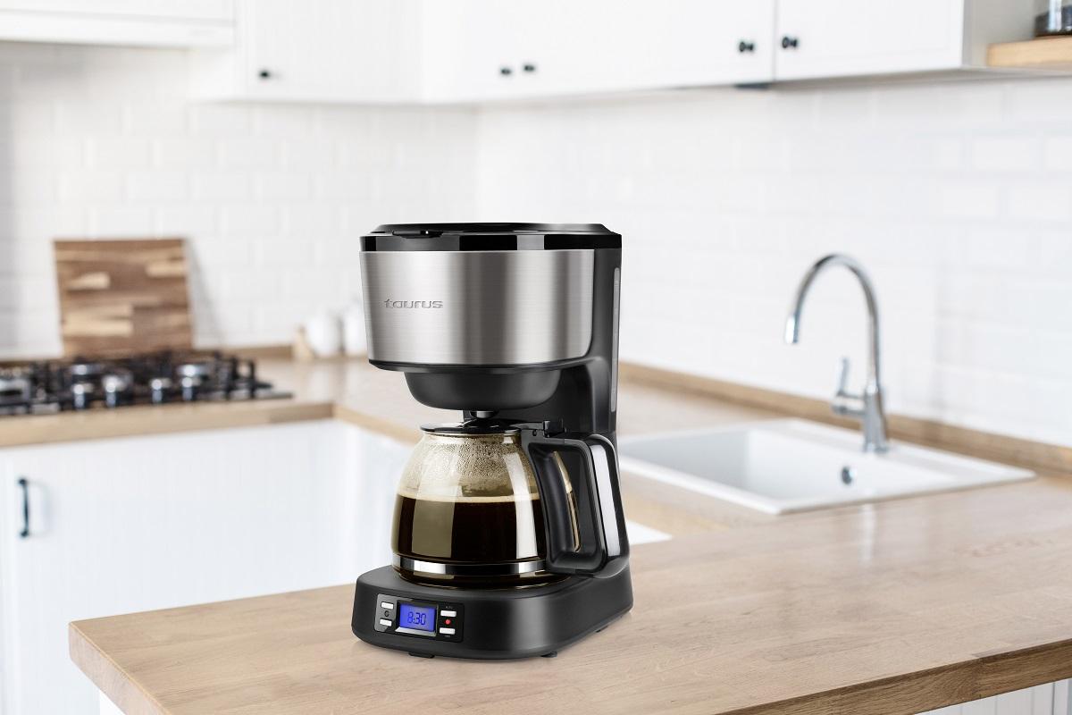 despertares con aroma de caf gracias a la nueva cafetera programable verona legend de taurus