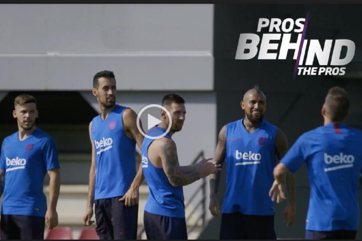 ya disponible el tercer captulo de la serie pros behind the pros sobre el fc barcelona