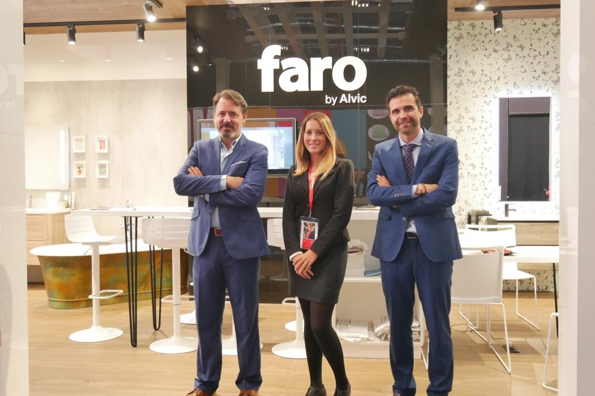 faro by alvic sorprende con su propuesta de baos en cersaie 2019