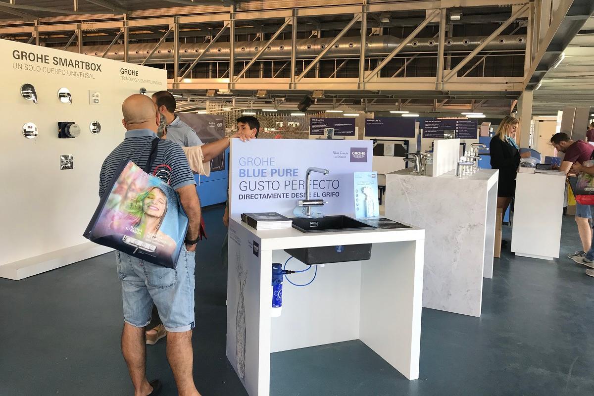 grohe presenta sus innovaciones en la feria organizada por mafonsa