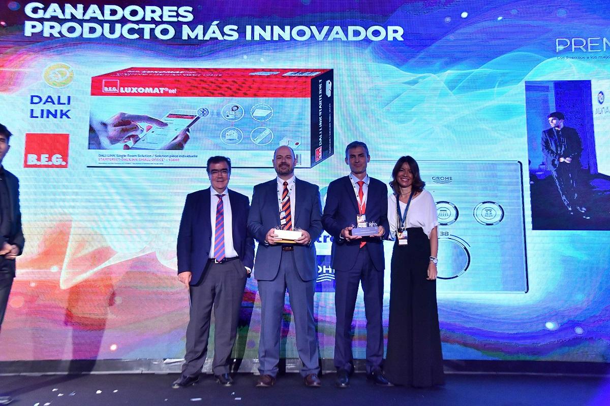 grohe smartcontrol galardonado como producto ms innovador en los premios auna 2019