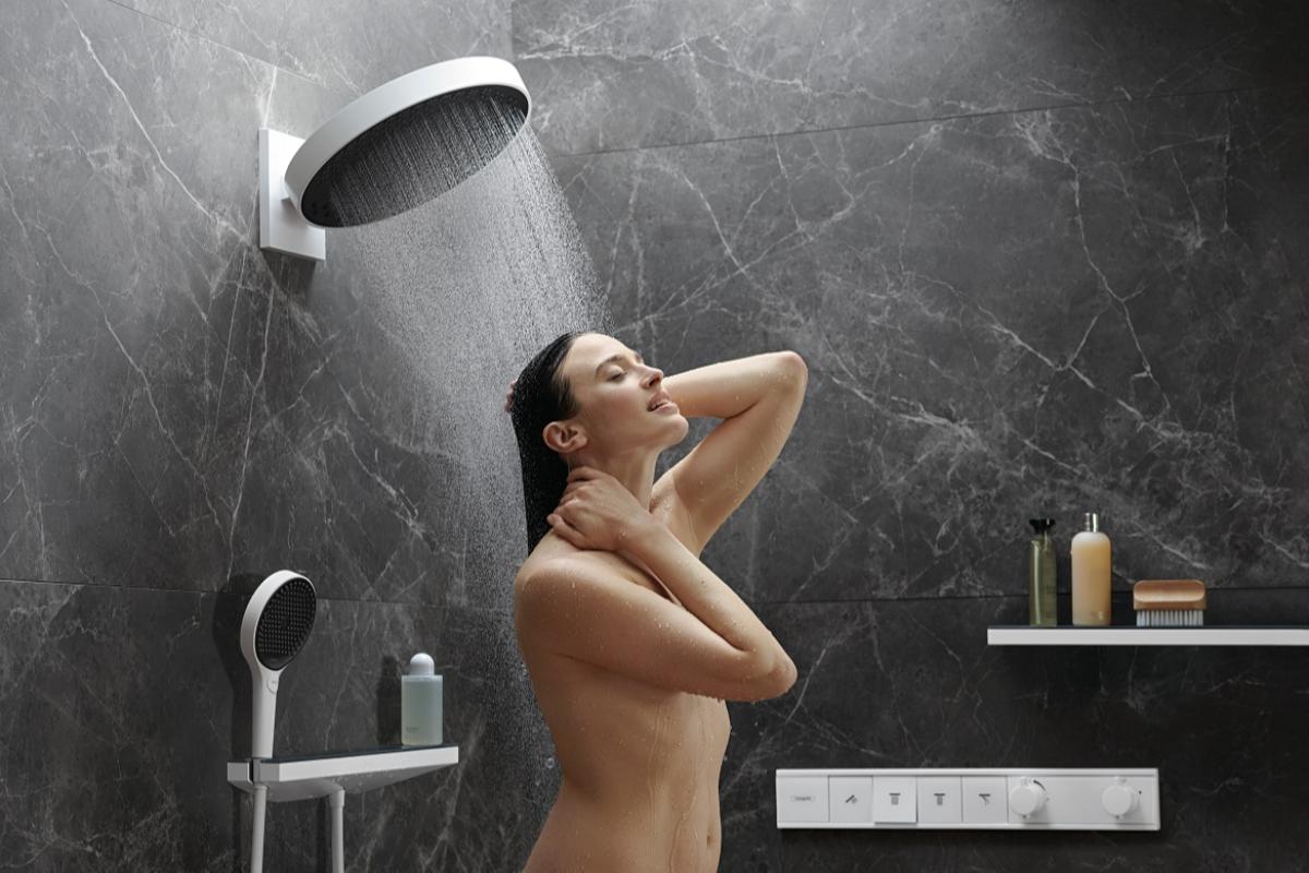 hansgrohe ofrece una nueva dimensin en la ducha con rainfinity