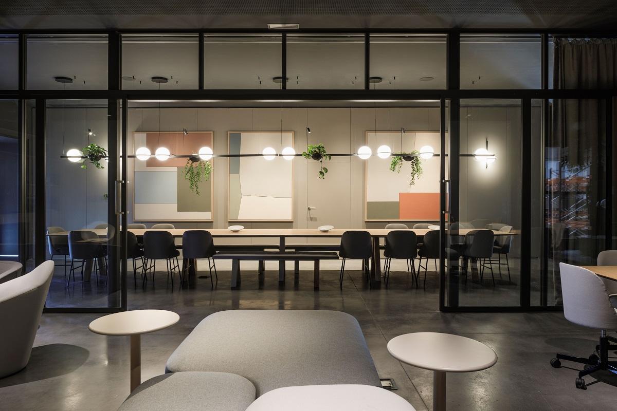 la nueva sede de vibia un lugar donde imaginar el futuro de la luz junto a los profesionales del diseo