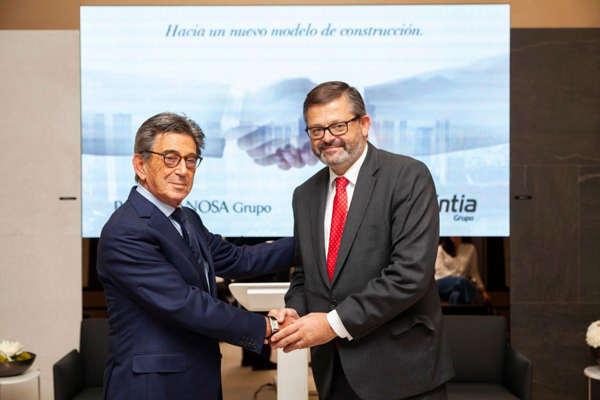 porcelanosa grupo y grupo avintia firman un acuerdo para impulsar la construccin industrializada
