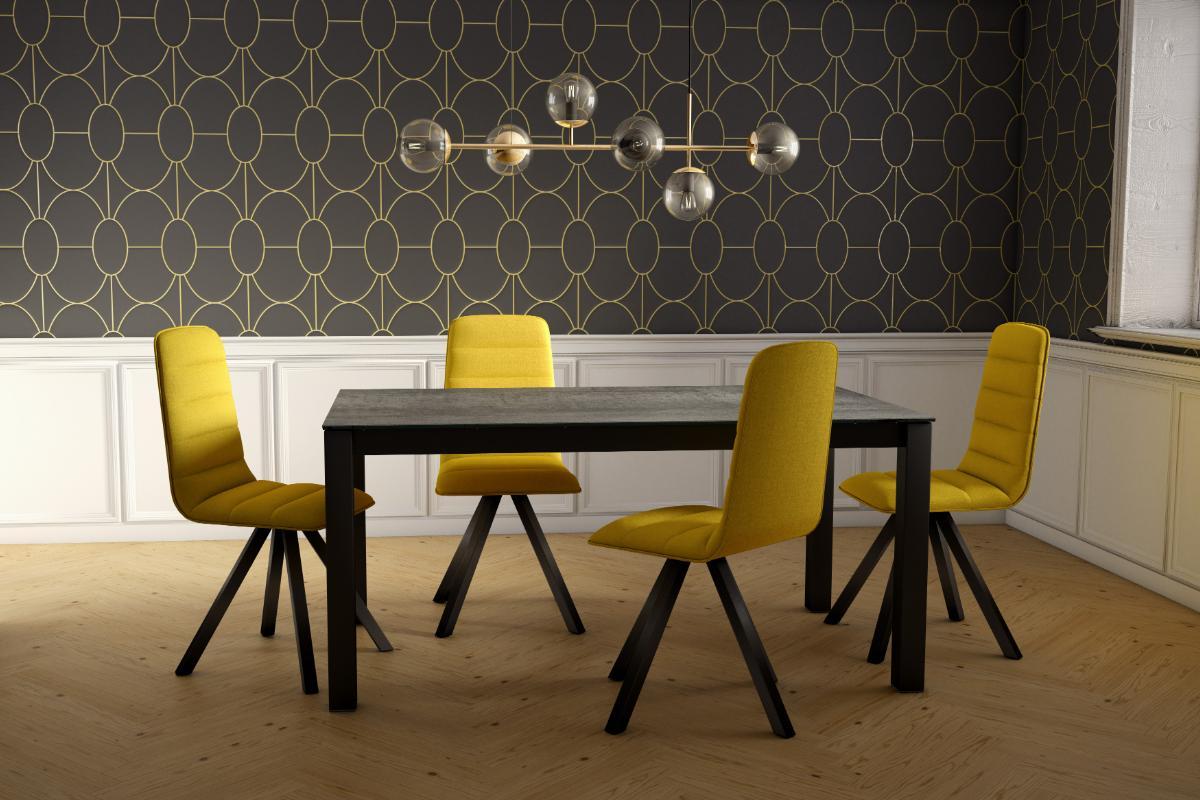 aris la nueva silla elegante y con asiento giratorio 360 de cancio