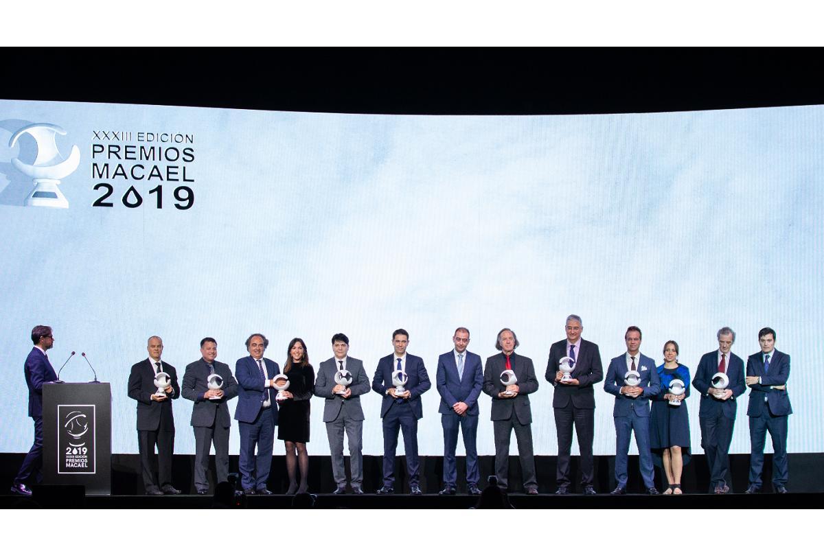 grupo cosentino brilla en los premios macael 2019