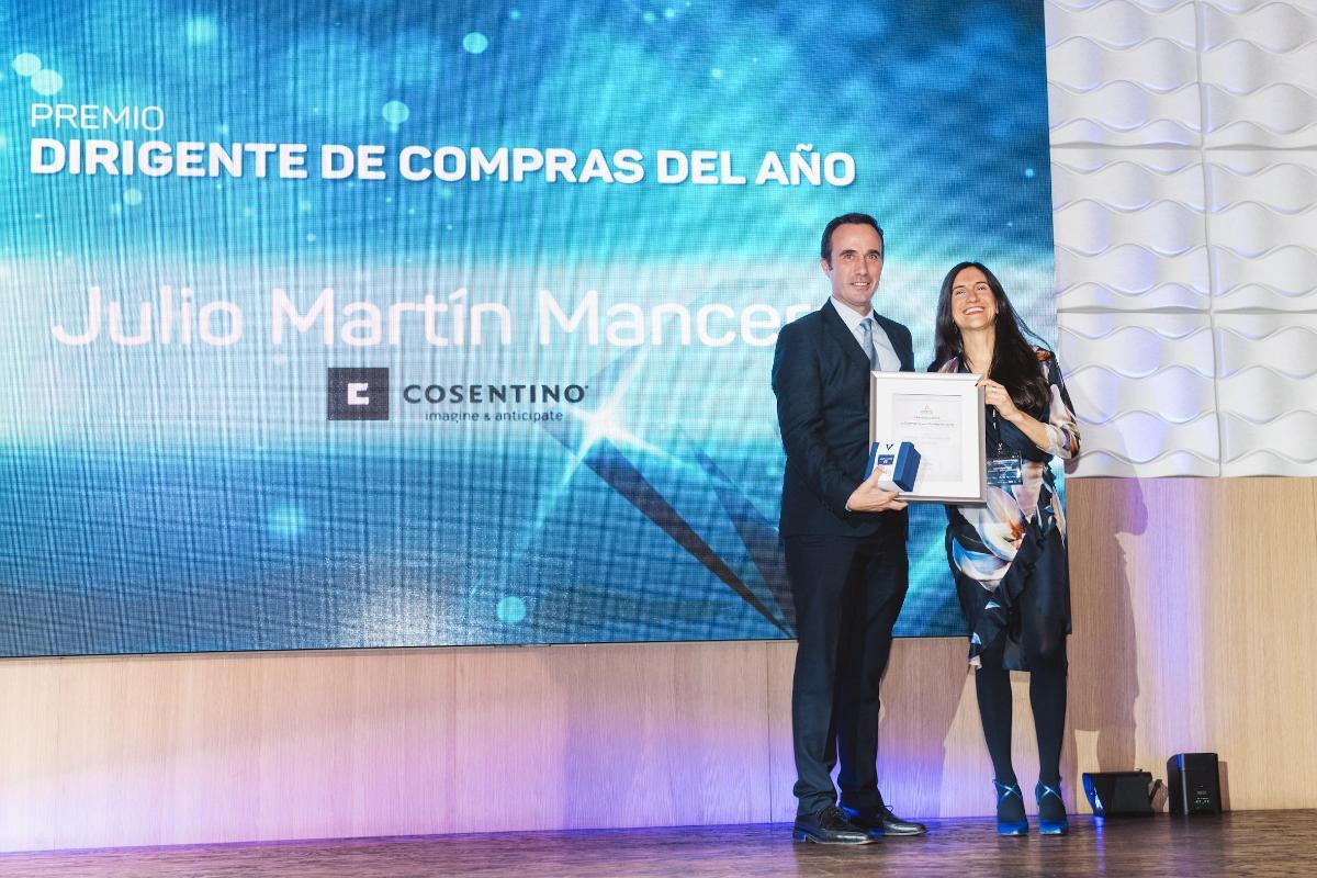 grupo cosentino obtiene doble mencin en los premios el diamante de la compra