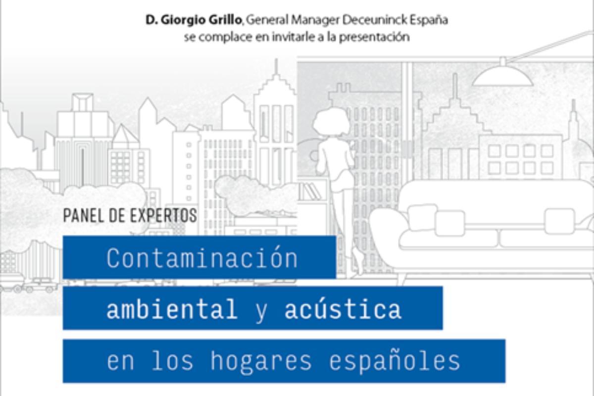 panel de expertos la contaminacin acstica y ambiental en los hogares espaoles