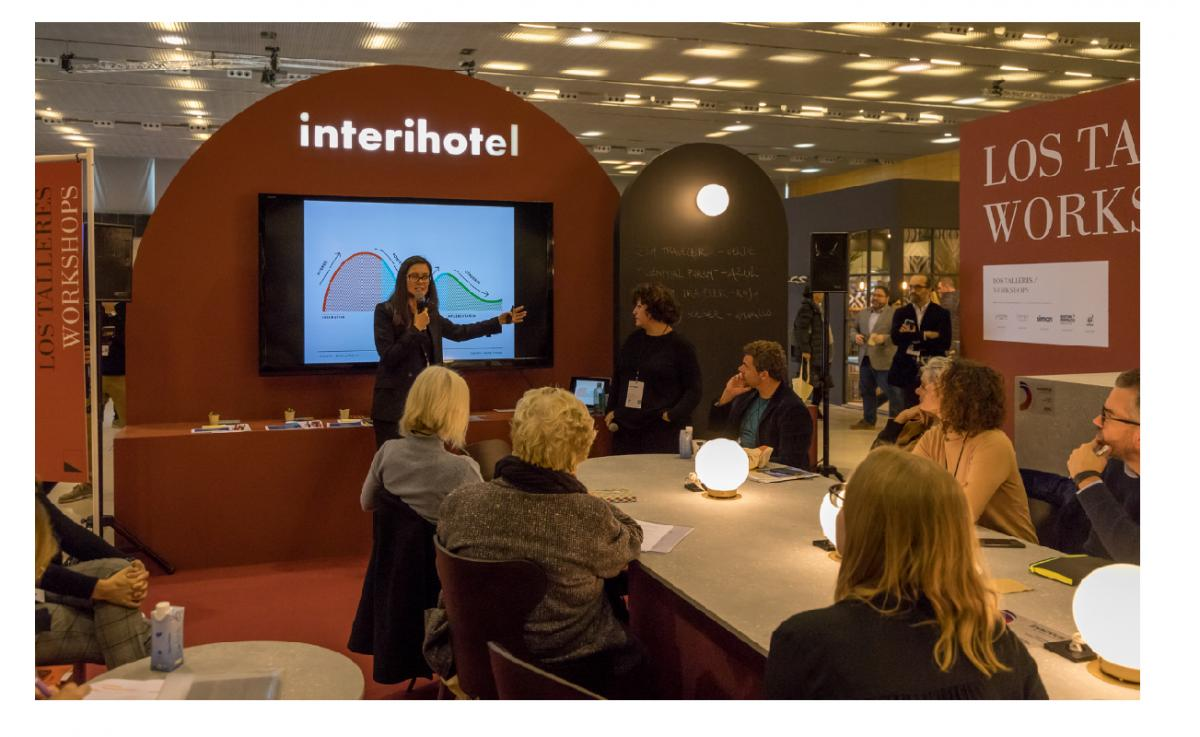 profesionales del interiorismo y la decoracin comparten sus ideas ms creativas en interihotel bcn19