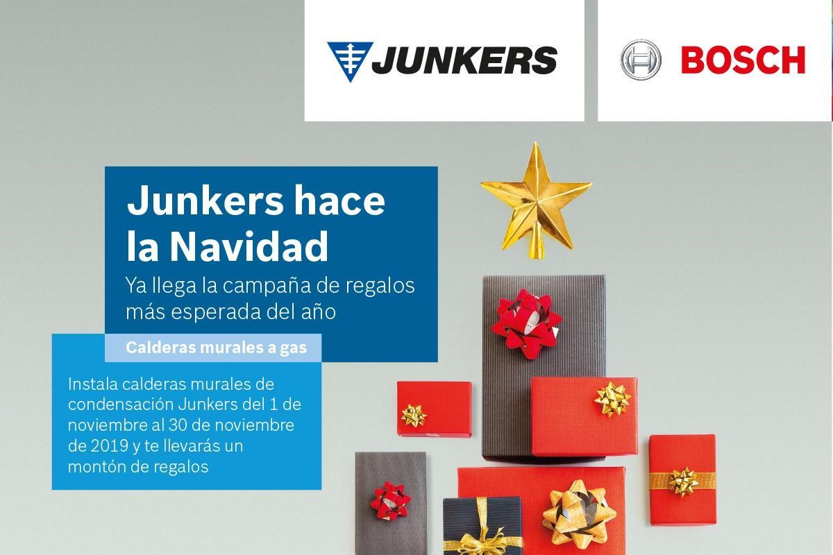 junkers premia la instalacin de sus calderas de la gama cerapur