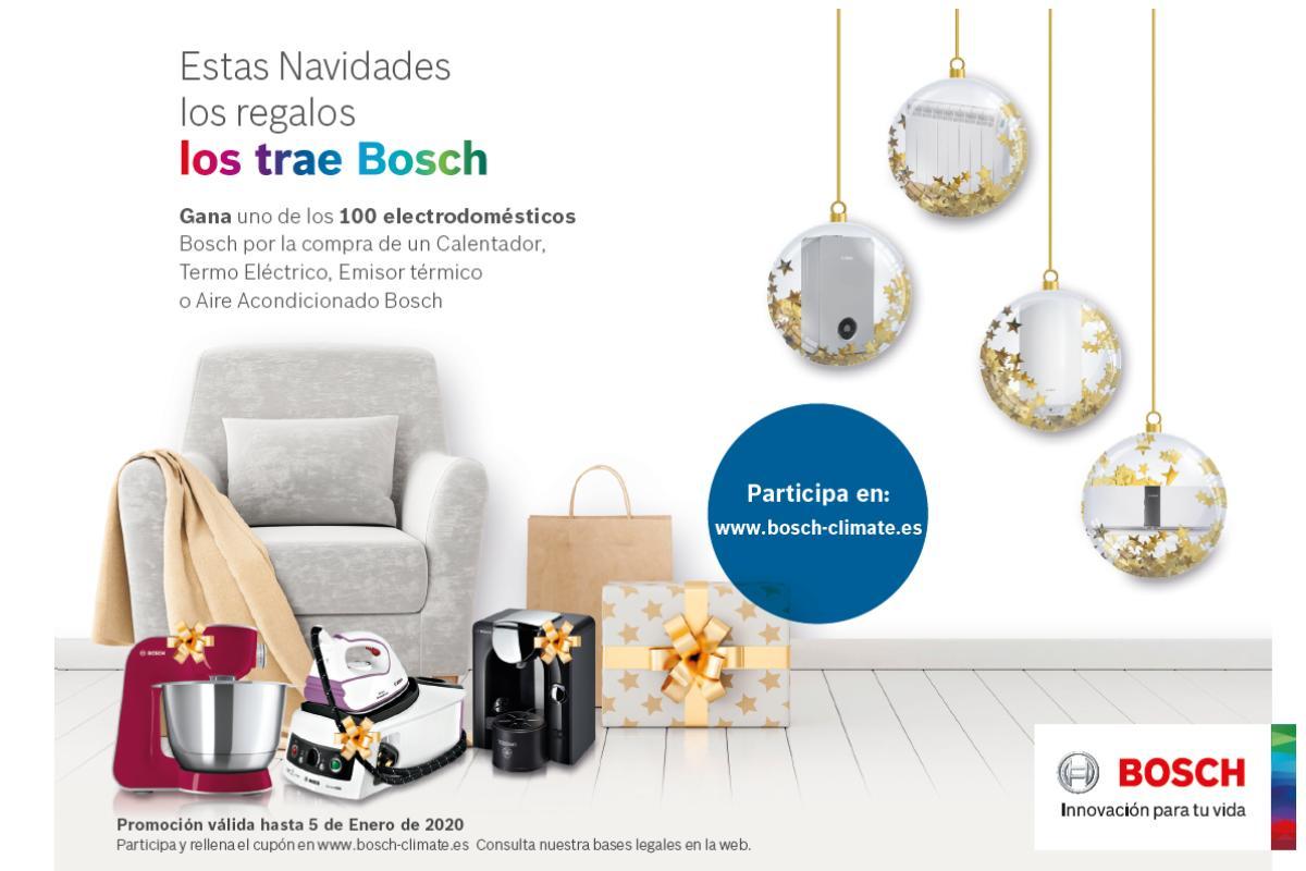 estas navidades los regalos los trae bosch la campaa navidea de bosh termotecnia