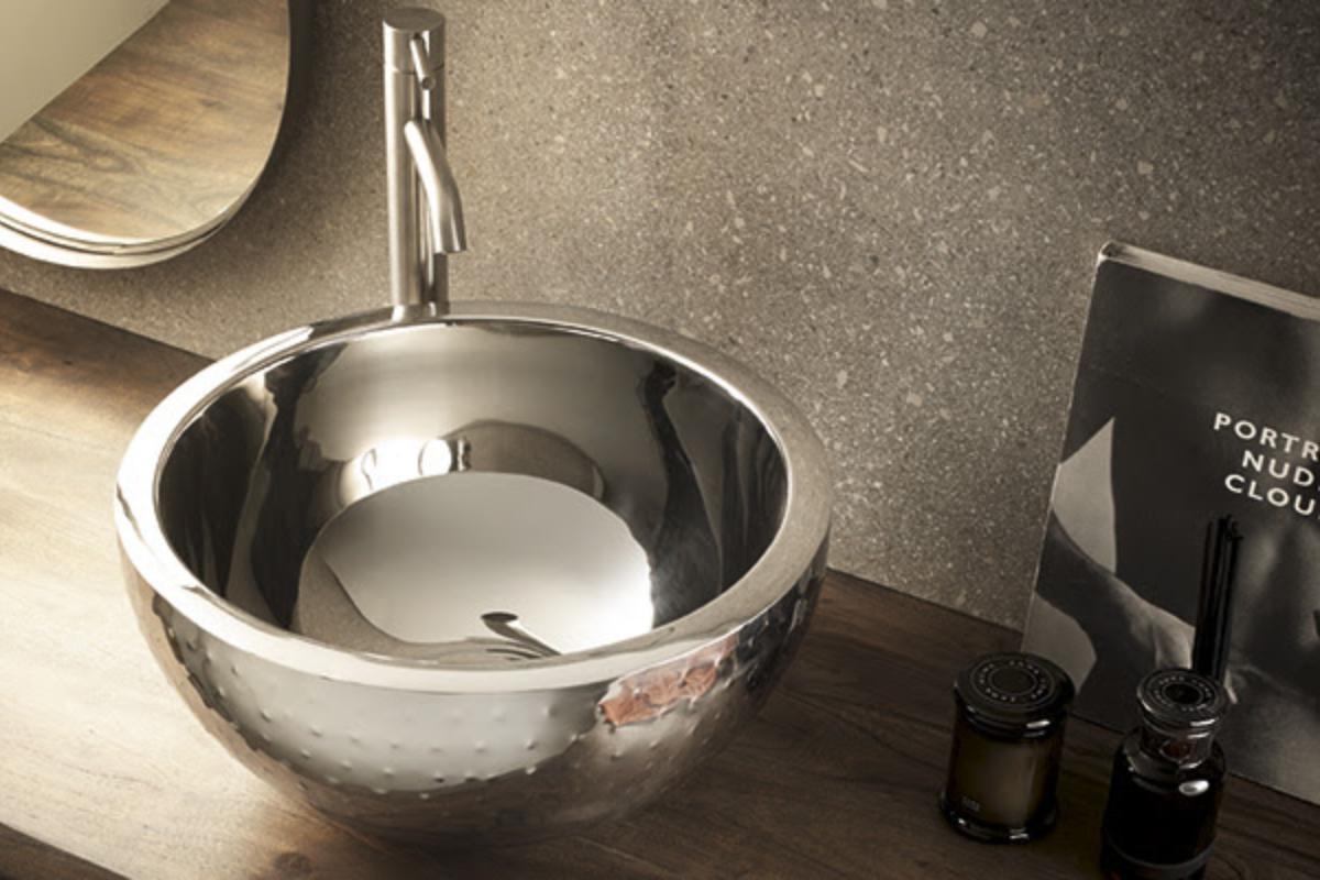 bathco luce metallic look en su nueva coleccin de lavabos