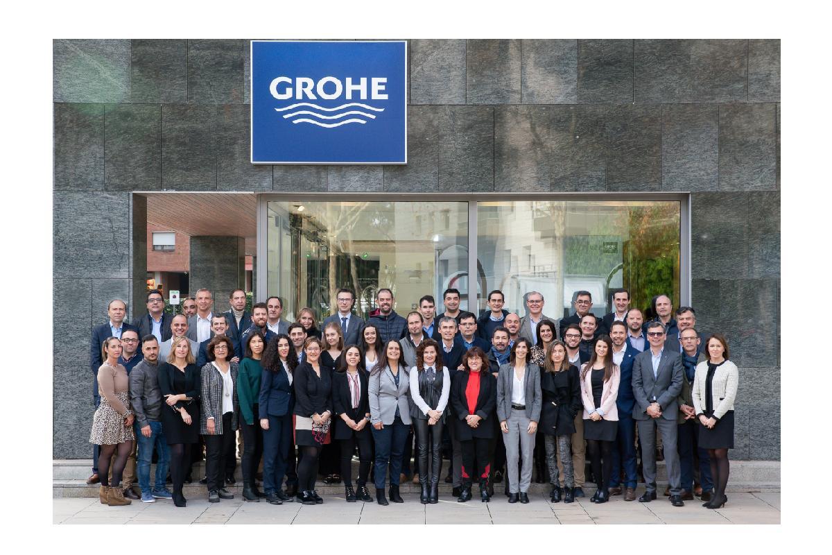 grohe iberia celebr en barcelona su convencin anual 2019