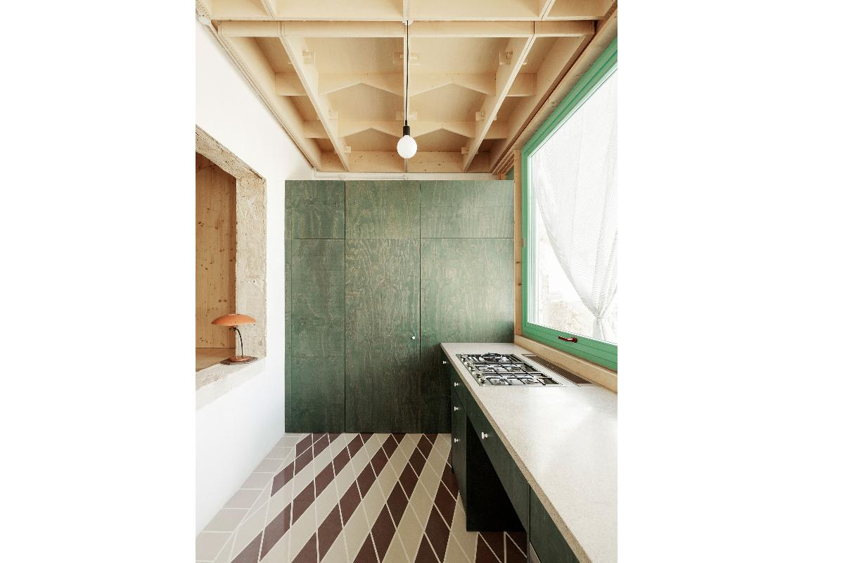 plywood house la fusin arquitectnica de artesana local y madera prefabricada