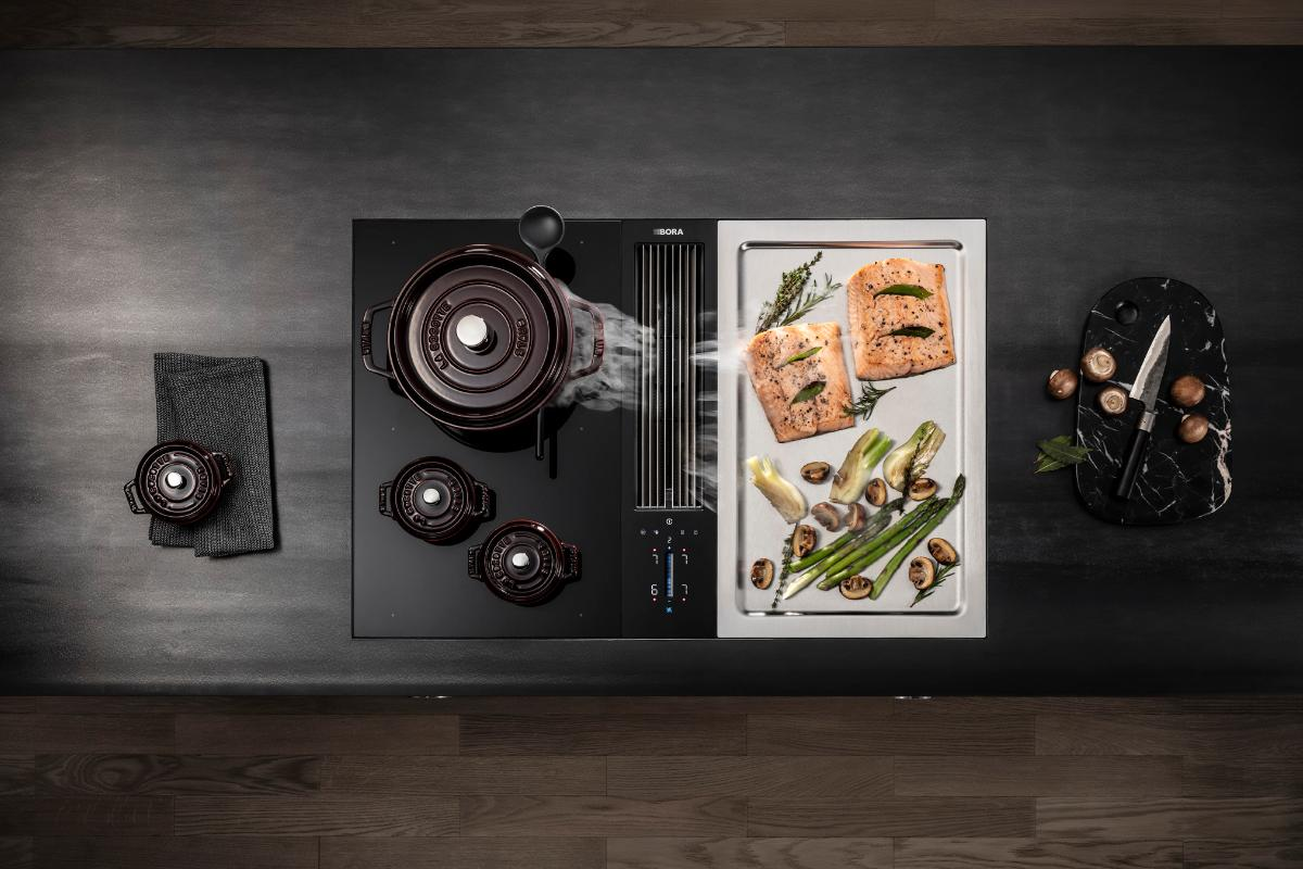 bora classic 20 dos zonas de cocinado para preparar platos saludables en poco tiempo
